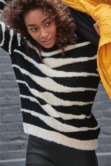 Next Zebra Sweater