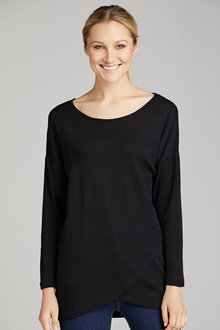 Capture Merino Asymmetric Hem Sweater - 218737