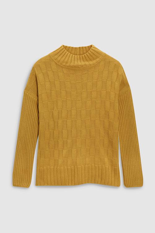 Next Stitch Funnel Neck Sweater