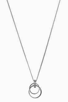 Next Circle Detail Necklace