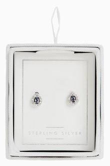 Next Stone Stud Earrings