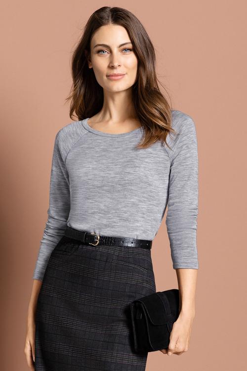 Capture Merino Raglan Sweater