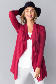 Capture Merino Waterfall Longline Cardigan