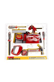 Red Toolbox 10 Piece Tool Set