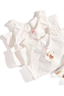 Next Mouse Vests Three Pack (1.5-12yrs)
