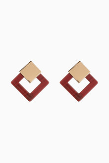 Next Resin Drop Earrings