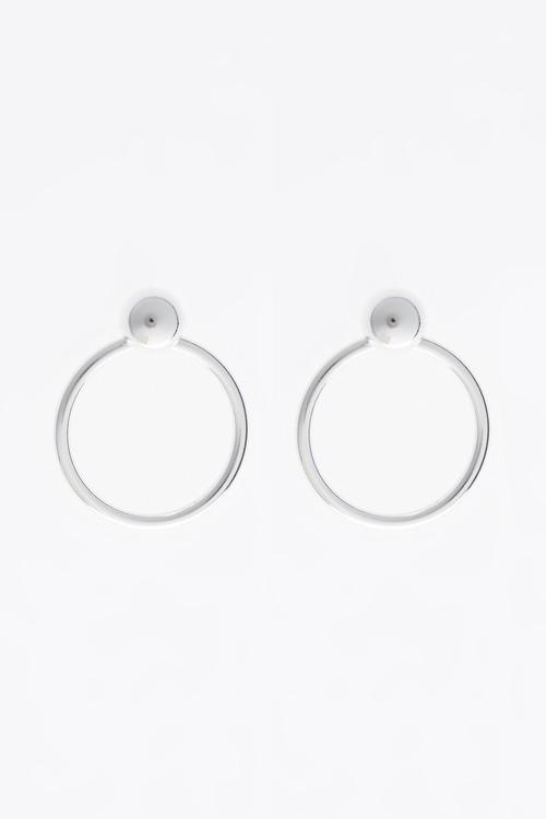 Next Circle Drop Earrings
