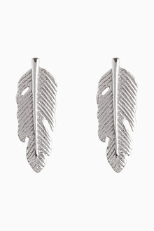 Next Feather Detail Stud Earrings