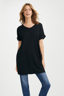 Capture Merino Tunic With Pocket - 218898