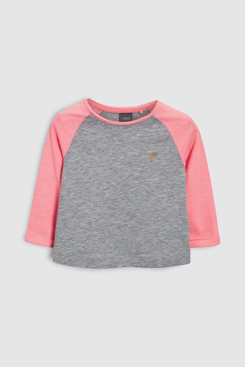 Next Raglan Sleeve T-Shirts 3 Pack