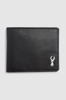 Next Leather Stag Badge Extra Capacity Wallet
