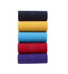 Next Rib N Logo Embroidered Socks Five Pack