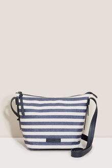 Next Stripe Bucket Bag
