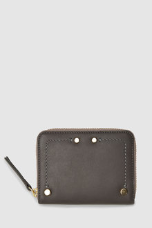 Next Leather Small Boxed Purse