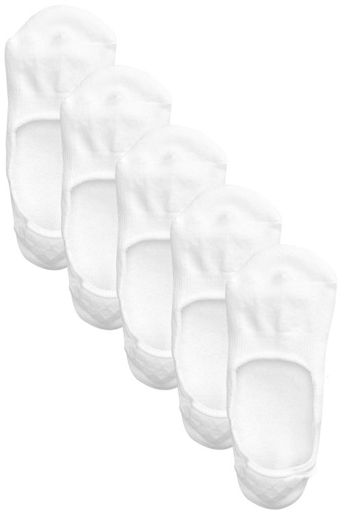 Next Cushioned Sole Invisible Trainer Socks 5 Pack