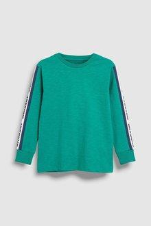 Next Printed Sleeve Tape T-Shirt (3-16yrs)