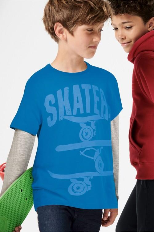 Next Skate Sleeve Top (3-16yrs)