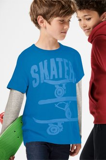 Next Skate Sleeve Top (3-16yrs)