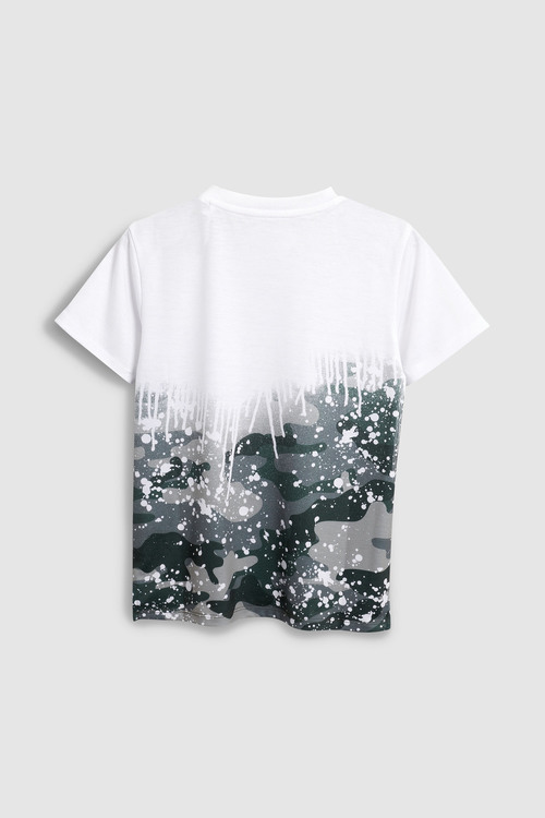 Next Camo Splat T-Shirt (3-16yrs)