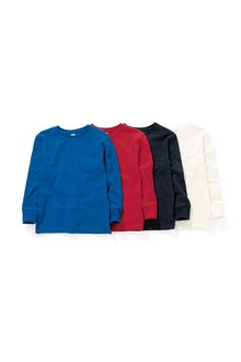 Next Long Sleeve Tops Four Pack (3-16yrs)