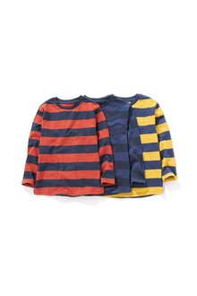 Next Long Sleeve Tops Three Pack (3-16yrs)