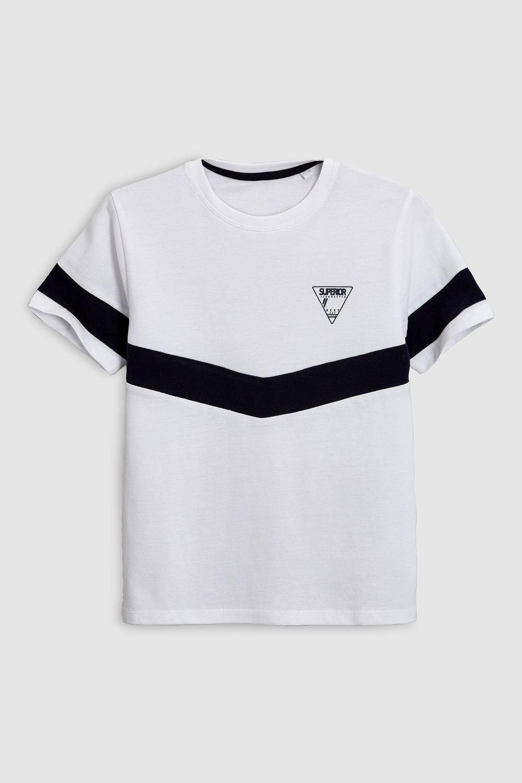 Next Colourblock T-Shirt (3-16yrs) Online | Shop EziBuy