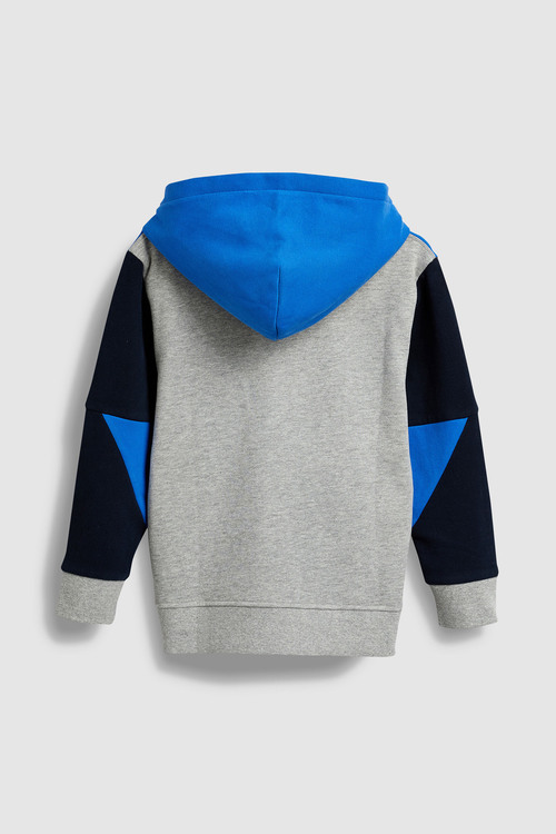 Next Colourblock Zip Through Top (3-16yrs)