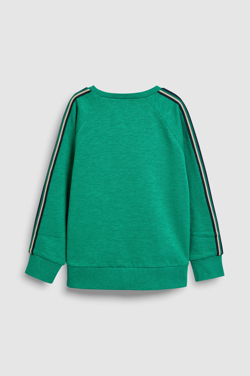 Next Sleeve Tape Sweat Top (3-16yrs)