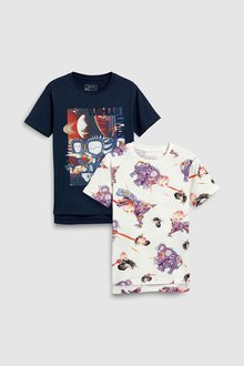 Next Dinosaur T-Shirts Two Pack (3-16yrs)