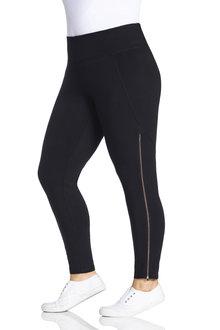 Plus Size - Sara Zip Legging