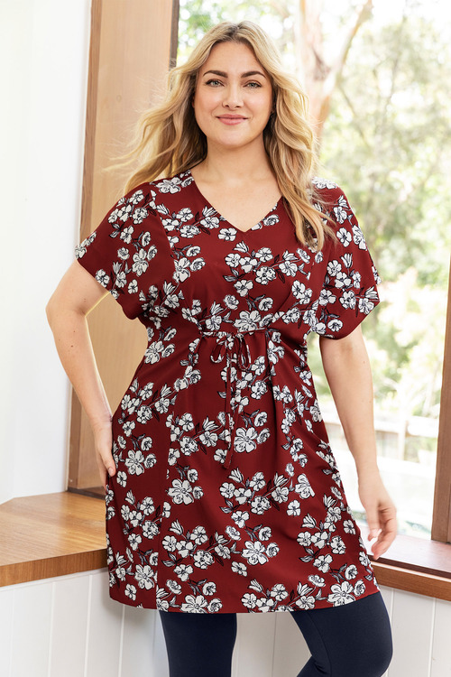 Plus Size - Sara Reversible Tunic