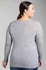 Plus Size - Sara Merino Round Neck