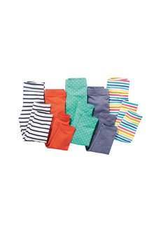Next Leggings Five Pack (3mths-6yrs)