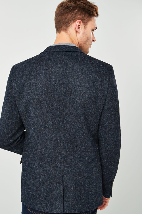 Next Signature Donegal Slim Fit British Wool Jacket