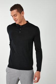 Next Merino Polo - 219353