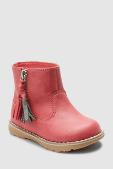 Next Tassel Ankle Boots (Younger)