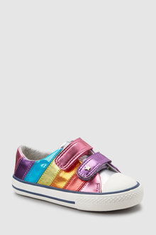 Next Stripe Touch Fastening Trainers (Younger)