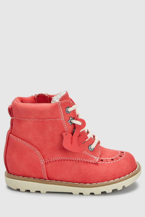 Next Lace-Up Boots (Younger)
