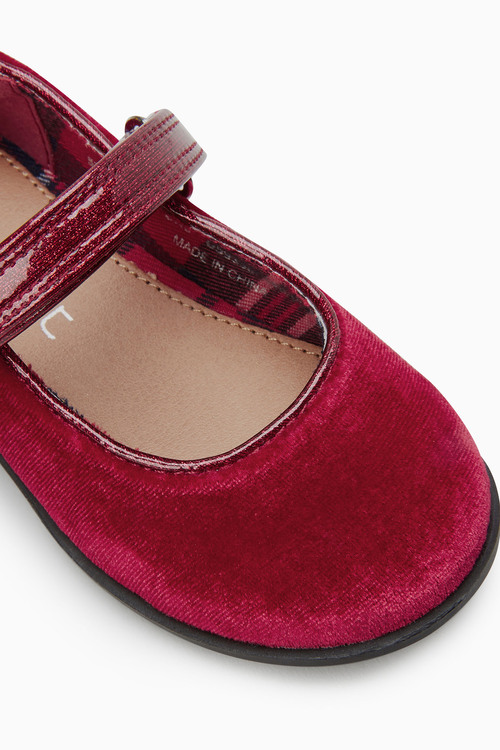 Next Velvet Mary Jane Shoes (Younger)