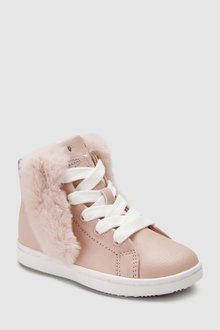 Next Bunny Ears High Top Trainers (Younger)