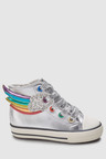 Next Rainbow High Top Trainers (Younger)