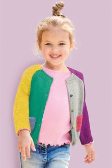 Next Colourblock Cardigan (3mths-6yrs)