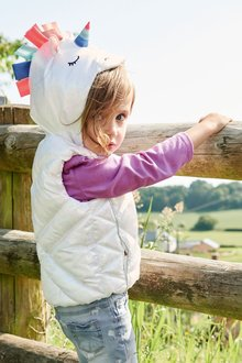 Next Unicorn Gilet (3mths-6yrs)