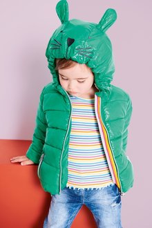 Next Padded Character Hooded Jacket (3mths-6yrs)