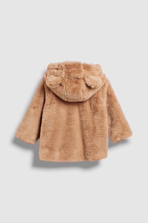 Next Faux Fur Jacket (3mths-6yrs)