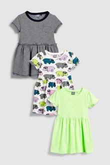 Next Dress Three Pack (3mths-6yrs)