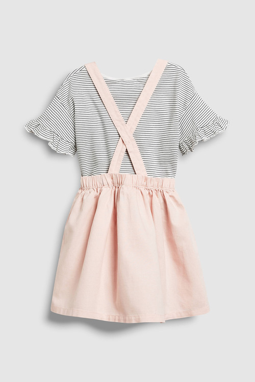 Next Bunny Pinafore And T-Shirt Set (3mths-6yrs)