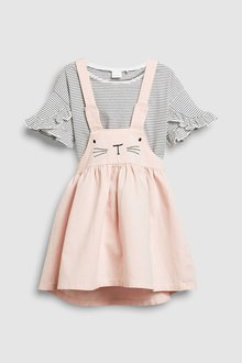 Next Bunny Pinafore And T-Shirt Set (3mths-6yrs)