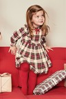 Next Check Dress With Tights (3mths-6yrs)