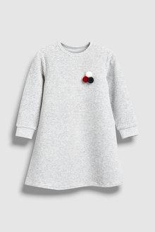 Next Velour Rib Dress (3mths-6yrs)